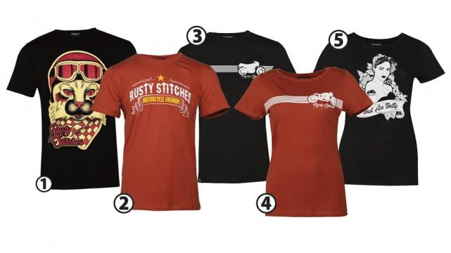 Fraaie shirts van motorkledingcultmerk Rusty Stitches